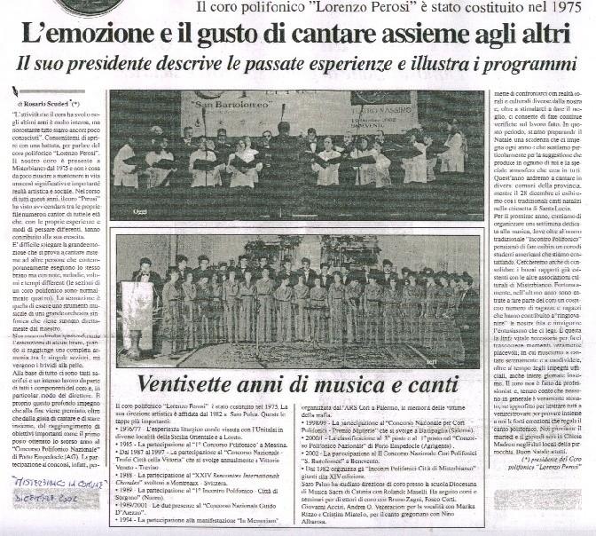 Misterbianco in Comune - dicembre 2002