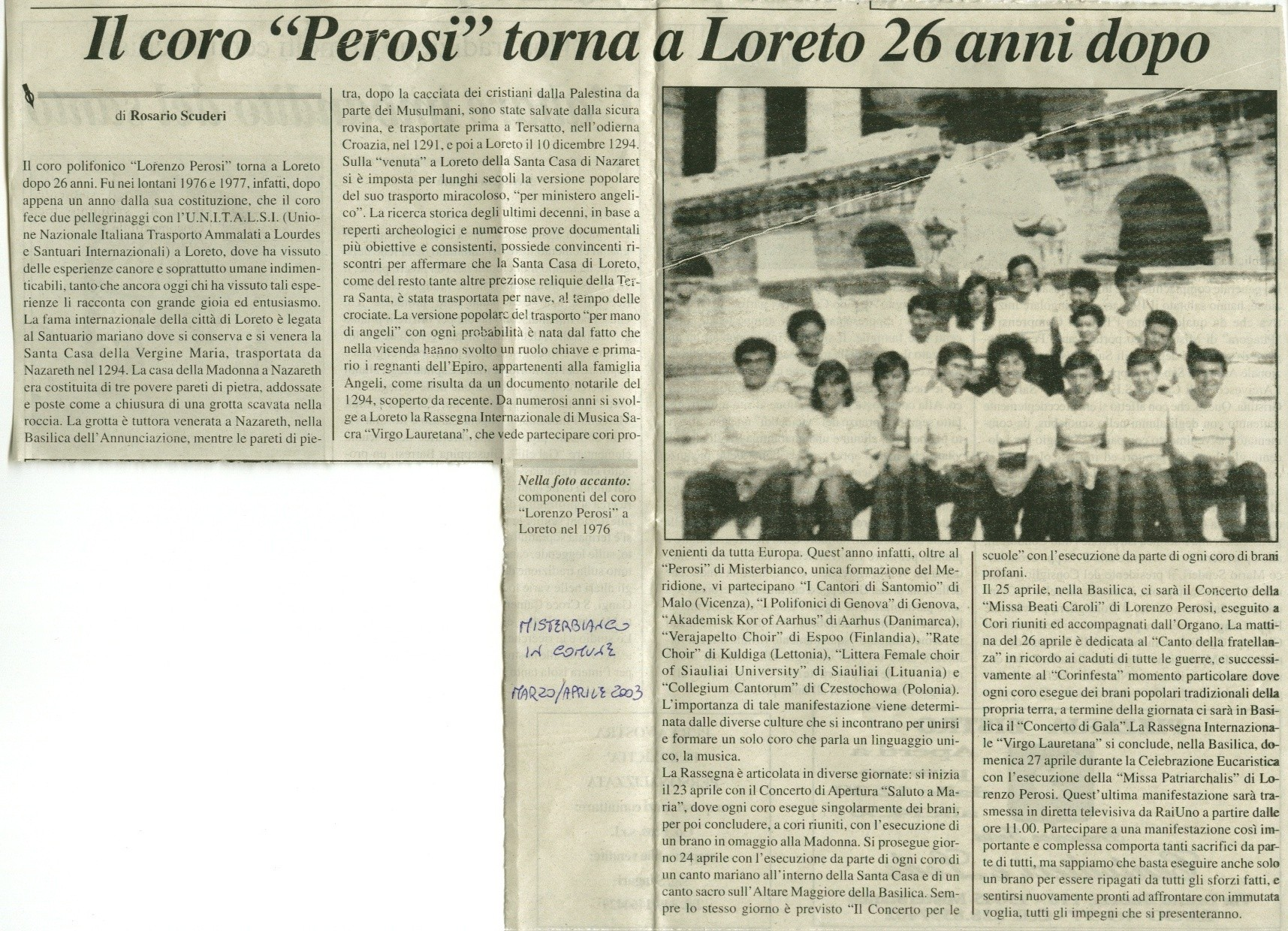 Misterbianco in Comune - marzo-aprile 2003