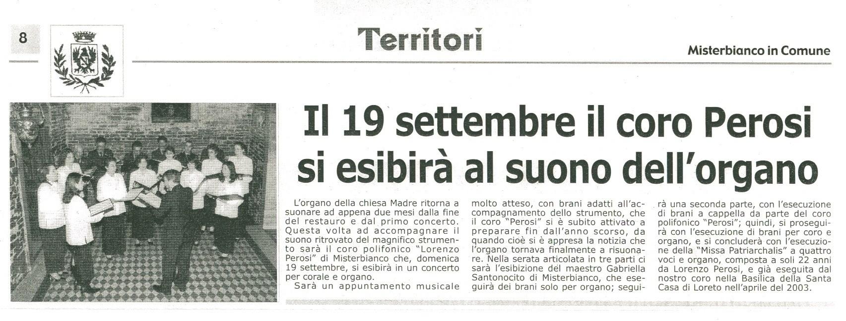 Misterbianco in Comune - settembre 2004
